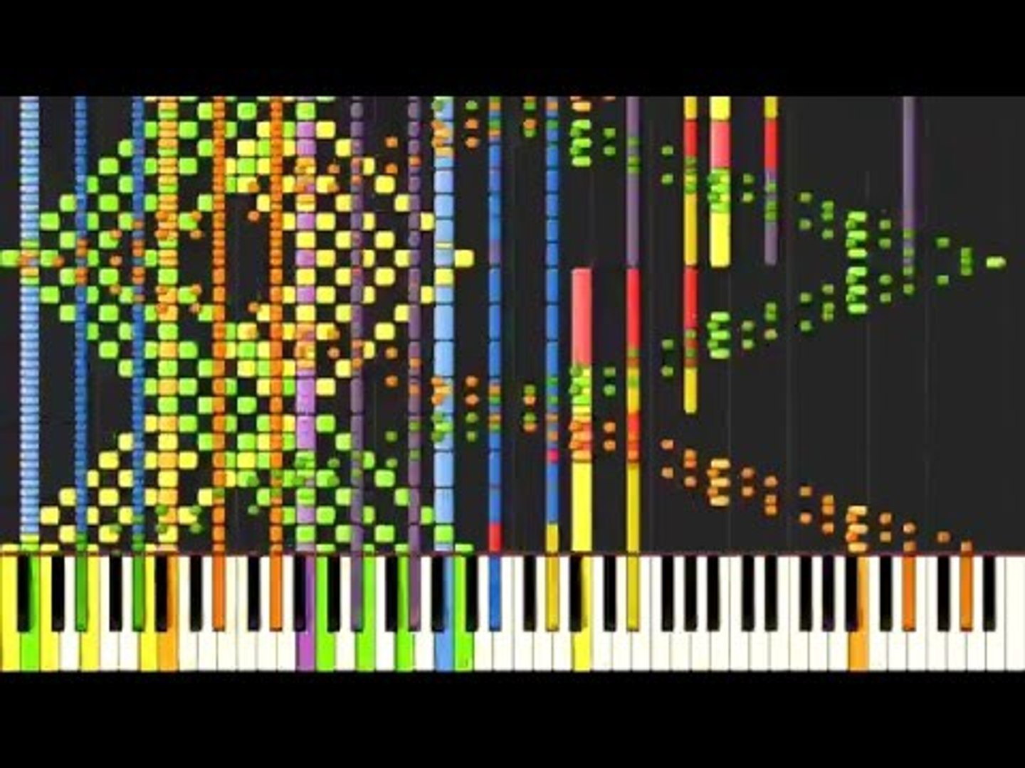 [Black MIDI] Synthesia – Undertale - NGAHHH!! / Spear of Justice 70,000  notes ~ Daniel Gregory
