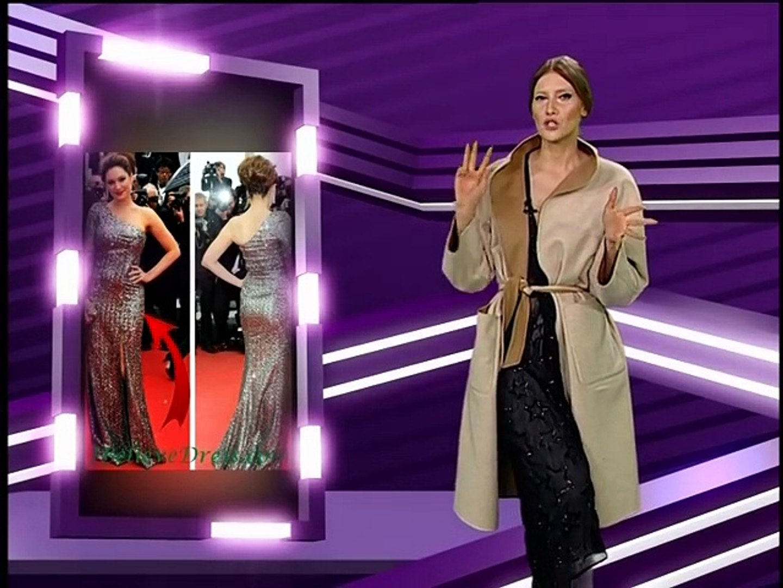 Iulia Albu - WOW sau Bau-Bau pe Kfetele.ro - Cum sa porti rochia cu paiete