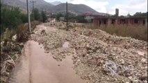 Antalya'da Sel Tarım Arazilerinde Zarara Yol Açtı