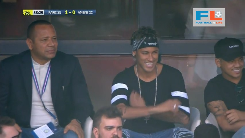 Without Neymar, PSG wins season-opener against Amiens