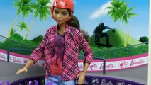 Chelsea Doll Learns About Being a Skateboarder   Barbie Careers   Barbie