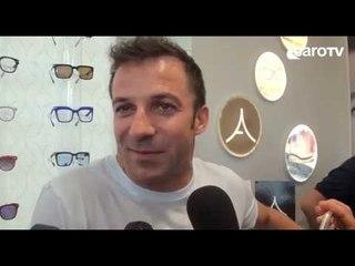 Del Piero inaugura negozio a Riccione. L'intervista all'ex capitano della Juve
