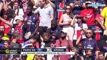 L arrivée de Neymar JR au Parc des princes - PSG vs Amiens  05 08 17