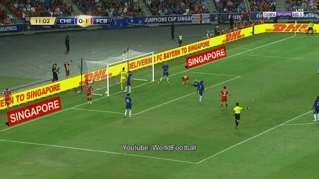 Bayern Munich vs Chelsea 3-2 _ 1st Half Goals _ International Champions Cup 2017
