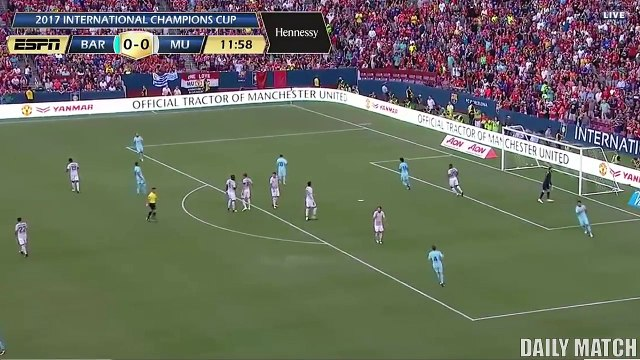 Barcelona vs Manchester United 1-0 - All Goals & Highlights - Friendly 26_07_201
