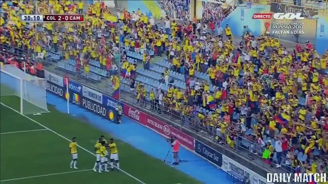 Cameroon vs Colombia 0-4 - All Goals & Highlights - International Friendly 13_06
