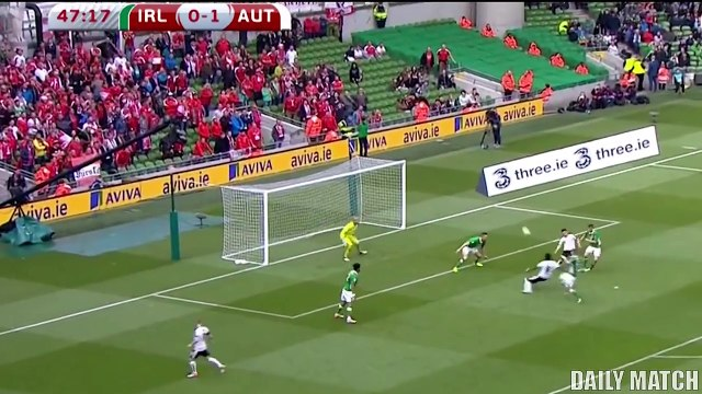 Ireland vs Austria 1-1 - All Goals & Highlights - World Cup Qualifiers 11_06_201