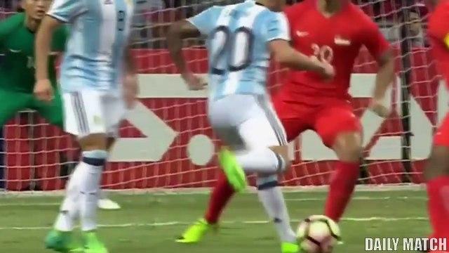 Singapore vs Argentina 0-6 - All Goals & Highlights - International Friendly 13