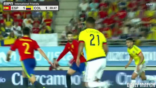 Spain vs Colombia 2-2 - All Goals & Highlights - International Friendly 07_06_20