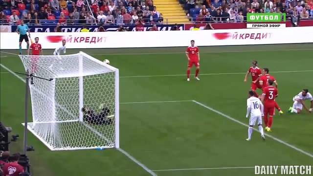 Russia vs Chile 1-1 - All Goals & Highlights - International Friendly 09_06_2017