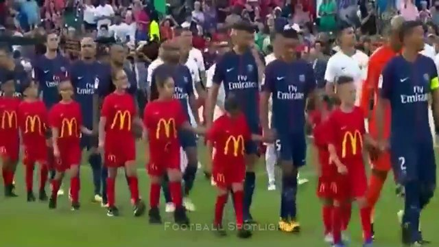 AS Roma vs PSG 1-1 – Penalty 3-5 - Highlights & Goals - 19 July 2017