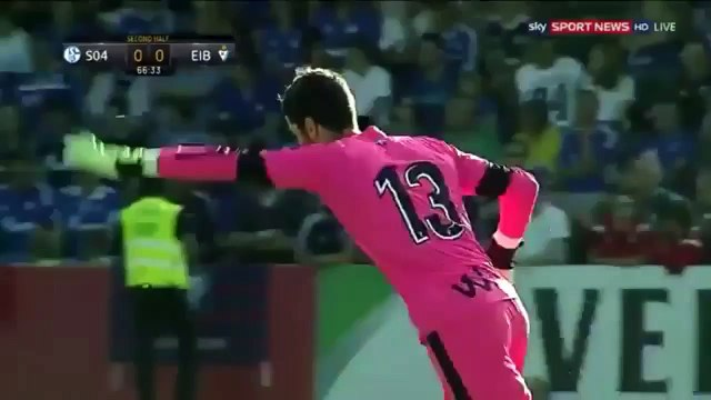 Amazing OWN Goal 2 - Jose Angel Own Goal from the middle of the field Shalke vs