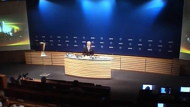 Europa League Playoff Draw Жеребьевка Лиги Европы 04.08.2017 Русский комментатор