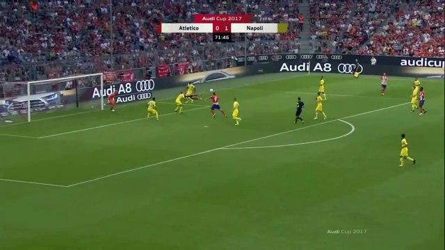 Fernando Torres goal Atletico Madrid vs Napoli 1-1 Audi Cup 01.08.2017