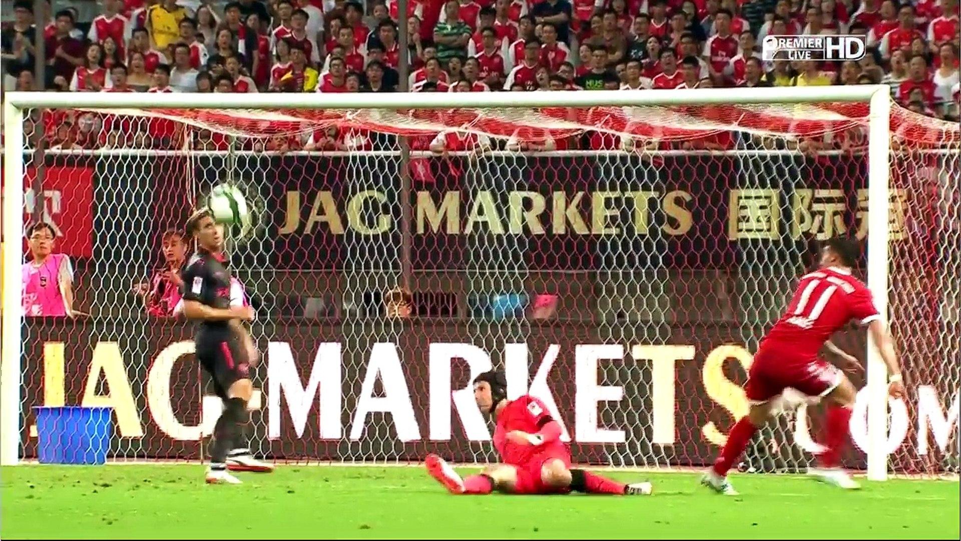 Bayern Munich vs Arsenal 1-1(2-3) All Goals Penalty Shootout HD 19_07_2017