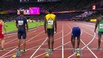 Finale du 100m Londres 2017 : Gatlin, Coleman, Bolt