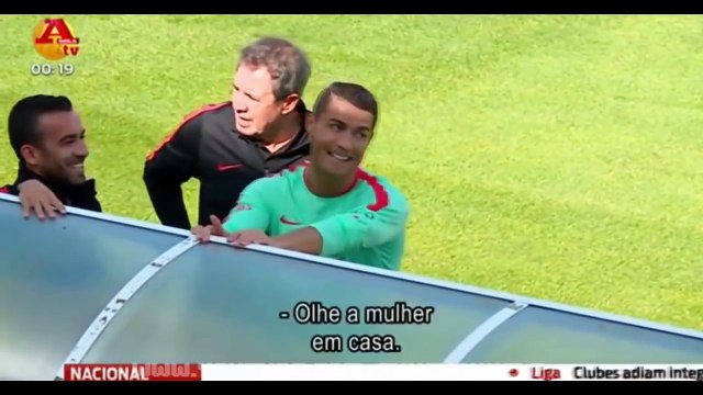 CRISTIANO RONALDO FUNNY MOMENTS! - Try not to laugh (100 % IMPOSSIBLE)