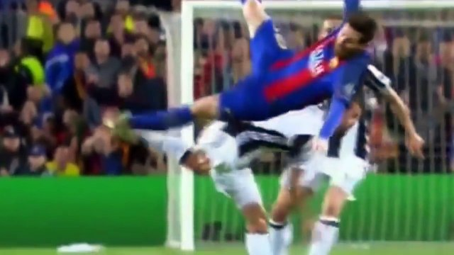 Lionel Messi Bleeding (Horror Injury) - Barcelona vs Juventus 0-0 _ HD
