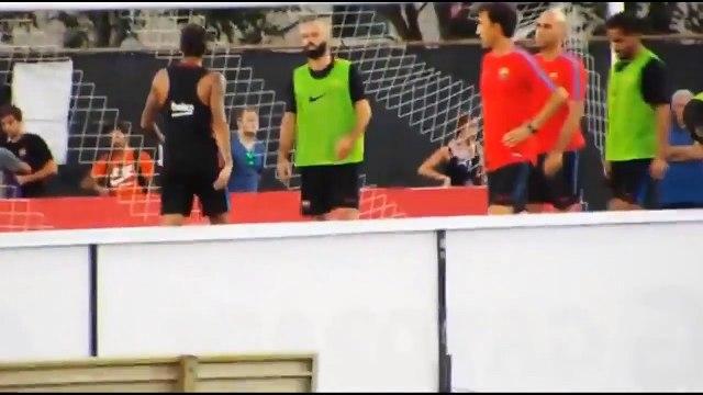Neymar Horror fight vs Nelson Semedo in training session! - Vines _ FunChannel