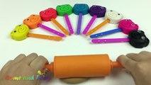 Jouer ourson ours sucettes avec Pâques thème moules Apprendre couleurs amusement pour enfants drôle enfant