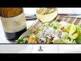 Receta de ensalada de nopales, chayote y manzana verde / Nopales salad, chayote and green apple