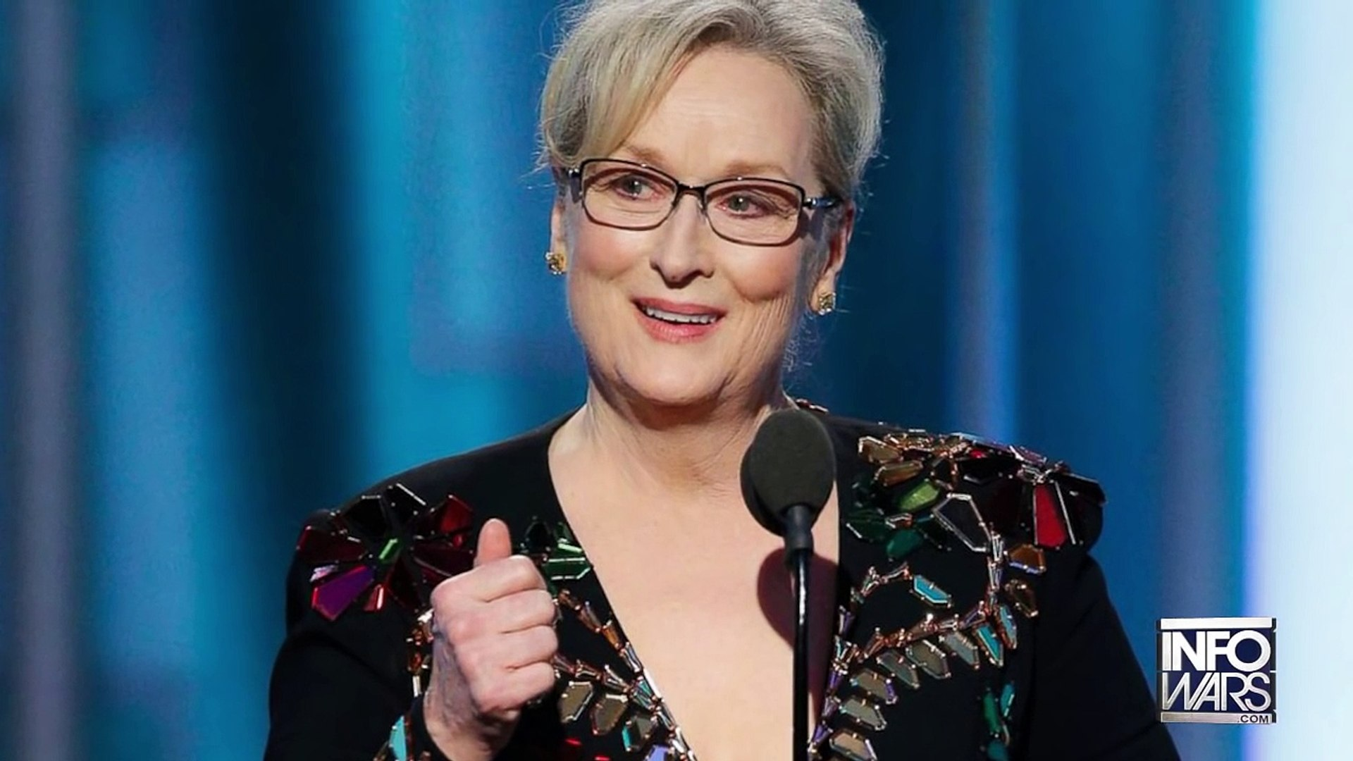 Caught! Meryl Streep Applauds Pizzagate Pedophile
