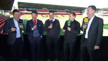 BTSport Football. Neil Lennon and Chris Sutton discuss whether Celtic can hold on to their