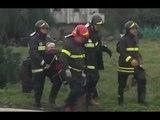 Reggio Calabria - Maltempo, soccorso dei Vigili del Fuoco (02.11.15)