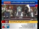 Karnataka governer VR Vala addressing joint session of Karnataka assembly