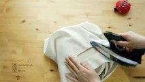 SAC bricolage réversible fourre-tout Sac fourre-tout réversible Comment faire ㅣ madebyaya