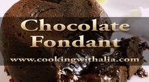 Un et un à un un à gâteau Chocolat lave de de type de fondant