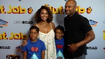 "Gloria Govan, Derek Fisher ""The Nut Job 2: Nutty by Nature"" Premiere Red Carpet"
