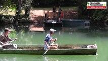 VIDEO. Vienne : un bac à chaînes pour traverser le Clain sans se mouiller