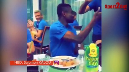 #hashtag - JOYEUX ANNIVERSAIRE SALOMON KALOU