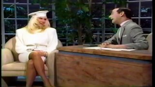 Pee Wee Herman Guest Host on Joan Rivers The Late