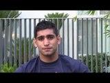 Amir Khan on Tim Bradley's 50-50 Offer, Zab Judah Skills  & more