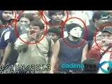 Evidencian cámaras las agresiones de anarquistas a funcionarios del GDF
