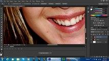 Y manchas cómo rápidamente retirar cicatrices piel suave para photoshop tutorial