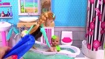 Et bain Baignoire mousse dans jouer savon le le le le la temps équipe les tout-petits eau avec Shopkins elsa anna