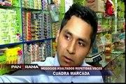 Cuadra marcada: constantes asaltos en negocios de Los Olivos