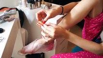 Pie recorrido pedicura para Piernas de los calcetines | pelado pelado pies | calcetines de bebé |