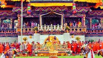 The king and queen of Bhutan// King Jigme and Queen Jetsun