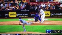 Hunter Renfroe Roof Homerun 434 Feet Vs Dodgers