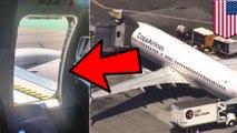 Remaja nekat lompat keluar pesawat lewat pintu darurat - TomoNews