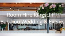 Room Hire Kingscliff - Babalou Wedding & Events