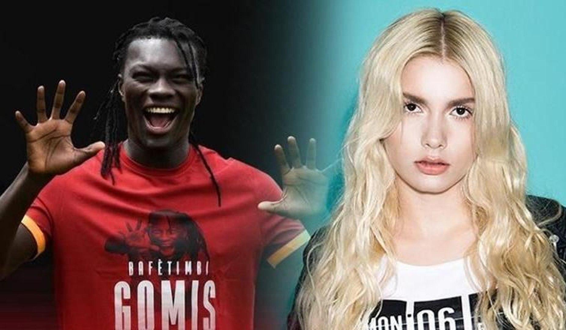 Galatasaray'ın yeni yıldızı Gomis, Aleyna Tilki hayranı çıktı