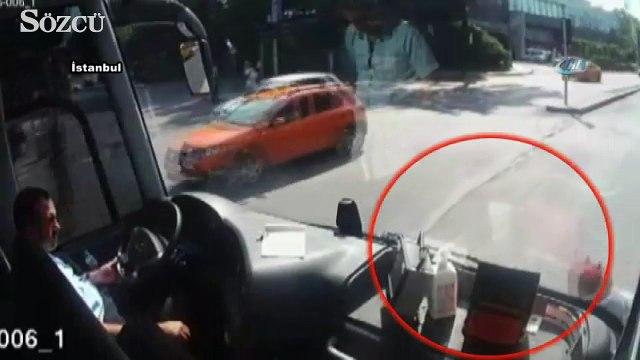 Şişli'de yolcu otobüsü yaşlı adamı ezdi