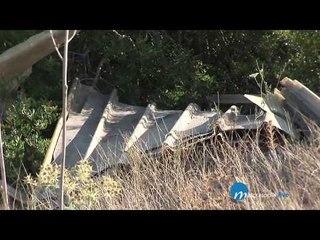 Amianto e rifiuti nel parco della murgia materana