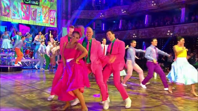 Blackpool Group Dance to 'Nicest Kids in Town' by James Marsden Strictly Come Dancing 2016