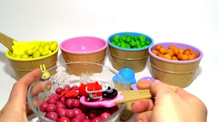 Learn Colors Nursery Rhymes Finger Family M&Ms Chocolate Surprise Toys